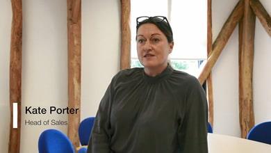 Kate Porter - Head of Sales